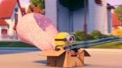 """《神偷奶爸2》萌趣片段 小黄人版""""速度与激情"""""""
