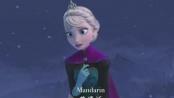 《冰雪奇缘》精彩片段 冰雪公主25种语言唱主题曲