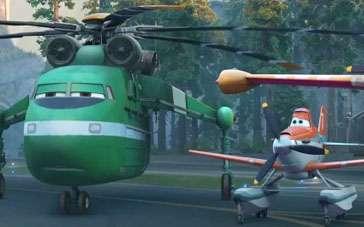 《飞机总动员2》中文预告 救援大队时刻待命出勤