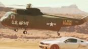 《极品飞车》曝光片段 军用直升机支援悬挂跑车