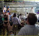 拍摄贝尔福特在公司开Party的戏份