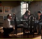 拍摄贝尔福特与前妻谈话的戏份