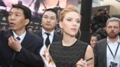 《美国队长2》空降中国 斯嘉丽·约翰逊惊艳亮相