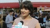 《分歧者》中文首映采访 贾斯婷称赞谢琳和蔼可亲
