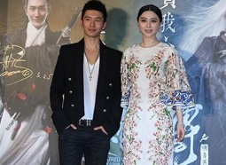 黄晓明、范冰冰首演情侣 《白发魔女》戏里互折磨