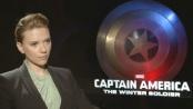 《美国队长2》中文访谈 美队和黑寡妇间不凡友谊