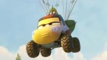 《飞机总动员2》新曝预告 救援车小分队从天而降