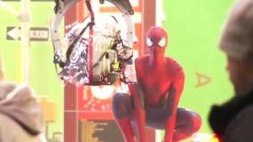 《超凡蜘蛛侠2》拍摄直击 绿幕抠像打造时代广场