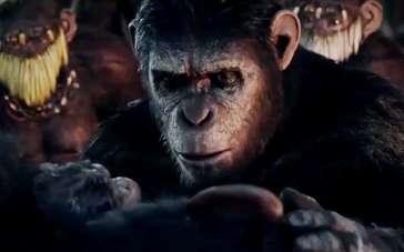 《猩球崛起2》台版预告 猿族繁衍建立家园生生不息