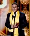 查理·汉纳姆获得全球最佳新人奖