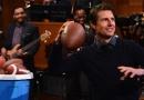 汤姆·克鲁斯录《吉米秀》宣传新片 被赞最帅表演