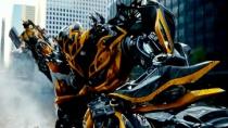 《变形金刚4》中文宣传片 大黄蜂楼宇间高空追逐