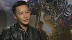 《变形金刚4》中文访谈 韩庚自曝最爱机器恐龙