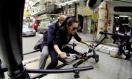 《变形金刚4》中国取景拍摄特辑 李冰冰闹市逃生