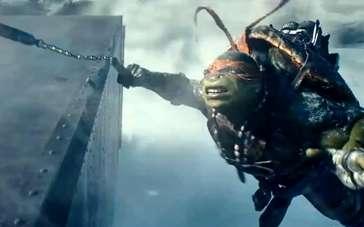 《忍者神龟》病毒视频 四兄弟携致命武器飞天遁地