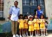 《五个小孩的校长》举行发布会 杨千嬅古天乐出席