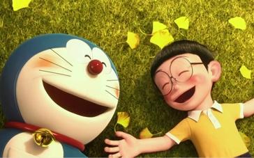 《哆啦A梦:伴我同行》中文预告 哆啦A梦独自哭泣