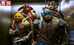 北美票房:《忍者神龟》续写辉煌 再登顶夺冠