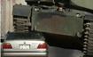 美国富豪开坦克碾压宝马车 叫板牙买加炫富男