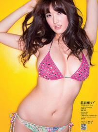 日本女星性感写真 酥胸丰满秀深沟皮肤白皙诱人