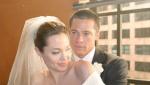皮特、朱莉法国低调完婚 相恋近10年终成眷属