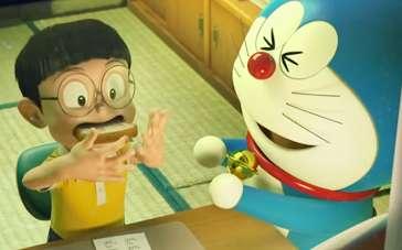 《哆啦A梦:伴我同行》宣传片 大雄狂吃记忆面包
