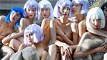 """""""超模之路""""意大利拍外景 模特集体全裸出镜"""