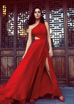 水果姐中国风写真美掉渣 秀肩露腰曲线妖娆妩媚