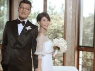 许茹芸与老公办花园婚礼 杨采妮、蔡健雅送祝福