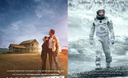 诺兰《星际穿越》再发海报 麦康纳携女仰望星空
