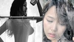 韩女歌手浴室全裸出镜 一丝不挂仅靠浴帘遮身