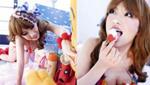 日本性感女神变身芭比娃娃 小露美胸