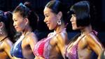 中国健美公开赛举行 女大学生变肌肉萝莉