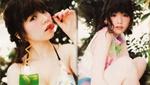 AKB48岛崎遥香上杂志 粉嫩可爱似洋娃娃