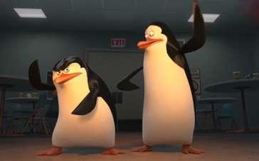 《马达加斯加的企鹅》精彩片段 贩售机吸走企鹅