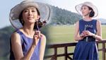 林志玲紫裙展女神气质 走出落马阴影观赛