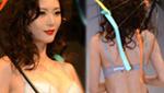 被坑了!上海内衣展模特脸太丑遭吐槽