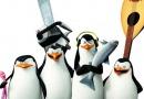 《马达加斯加的企鹅》曝光造型照 企鹅特工卖萌