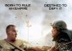 《出埃及记》曝最新海报 贝尔与埃哲顿战场对决
