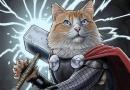 高萌预警!喵星人变身漫威超级英雄庆国际猫节