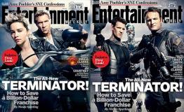 《终结者》登杂志封面 皮衣枪支摩托一个都不少