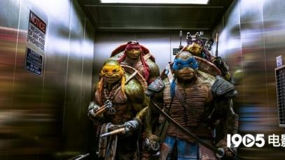 《忍者神龟》真人版造型毁童年 神龟搞笑成亮点