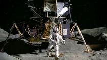 《阿波罗13号》片段 月球景象惊呆汤姆·汉克斯