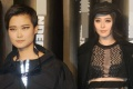 范冰冰镂空装出席时尚秀 霸气亮相众记者跪地采访