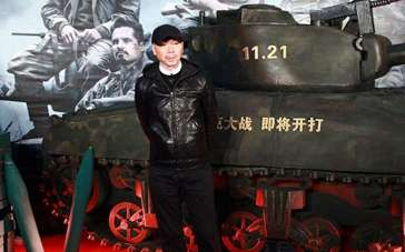冯小刚最爱战争片 为布拉德·皮特《狂怒》点赞