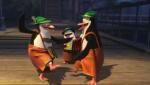 《马达加斯加的企鹅》精彩片段 四剑客跳抽嘴舞