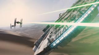 《星球大战7》首支中文预告 千年隼迎战帝国战机