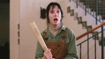 《闪灵》高潮片段 杰克疯狂咆哮妻子惊恐球棒反击