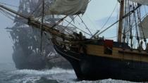 《加勒比海盗》精彩片段 两船交锋杰克乘机脱逃