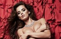 乌克兰选美冠军拍风情大片半裸出镜 秀丰满身材